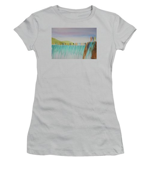 We Are All The Same 1.1 Women's T-Shirt (Junior Cut) by Tim Mullaney