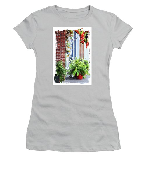 Welcome Women's T-Shirt (Junior Cut) by Lena Wilhite