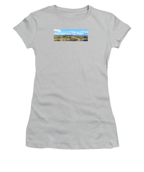 West Of Taos Women's T-Shirt (Junior Cut) by Brenda Pressnall