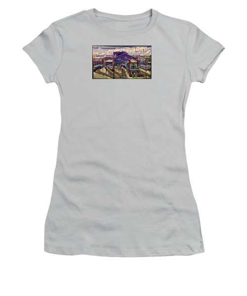 Western Rail Station, Budapest Women's T-Shirt (Athletic Fit)