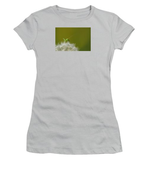 Women's T-Shirt (Junior Cut) featuring the photograph What's The Time.... by Richard Patmore