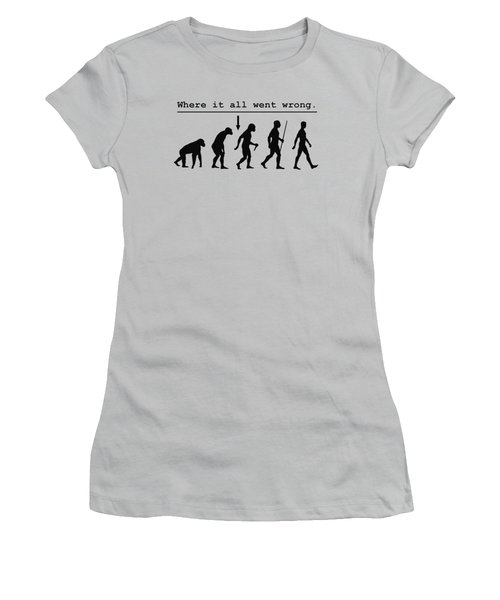 Where It All Went Wrong Women's T-Shirt (Athletic Fit)
