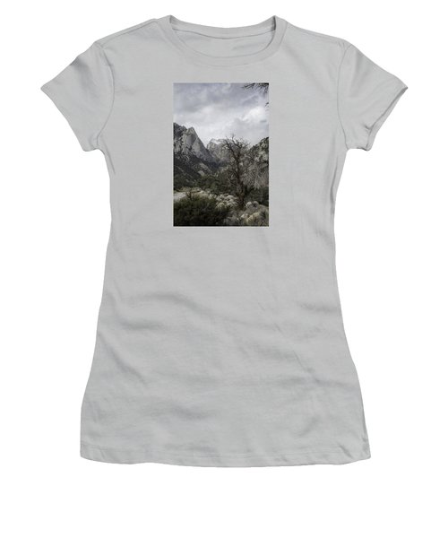 Whitney Portal Women's T-Shirt (Athletic Fit)