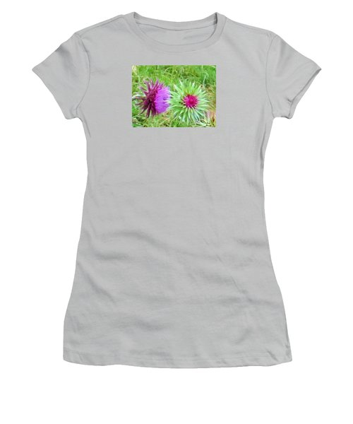 Wild Beauty In The Meadow Women's T-Shirt (Athletic Fit)