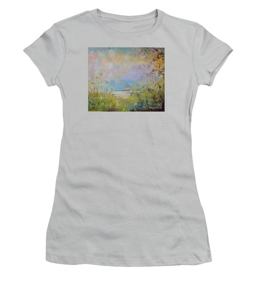 Wild Grasses Of Saugatuck Women's T-Shirt (Athletic Fit)