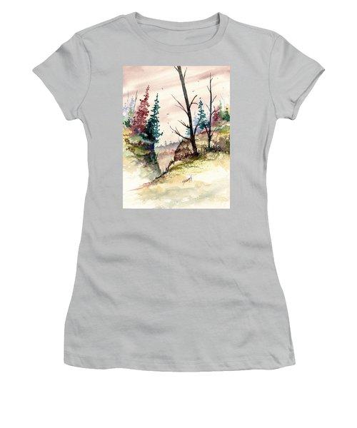 Wilderness II Women's T-Shirt (Junior Cut) by Sam Sidders