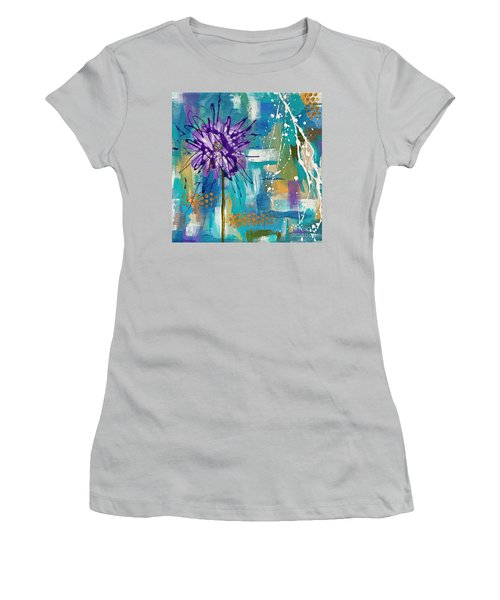 Wildflower No. 1 Women's T-Shirt (Athletic Fit)