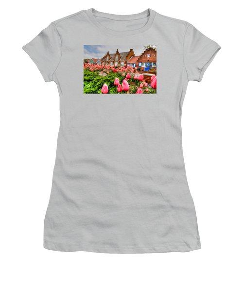 Women's T-Shirt (Junior Cut) featuring the photograph Windmill Villa by Robert Pearson
