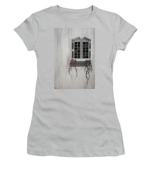 Window Women's T-Shirt (Athletic Fit)