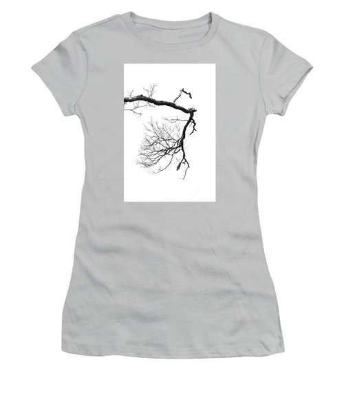 Women's T-Shirt (Junior Cut) featuring the photograph Wintered Over by Skip Willits