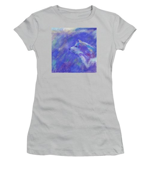Winter's Dream Women's T-Shirt (Athletic Fit)