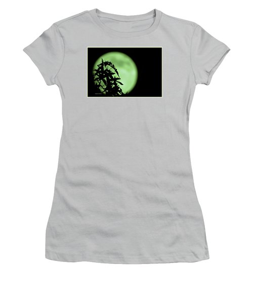 Women's T-Shirt (Junior Cut) featuring the photograph Witching Hour by DigiArt Diaries by Vicky B Fuller