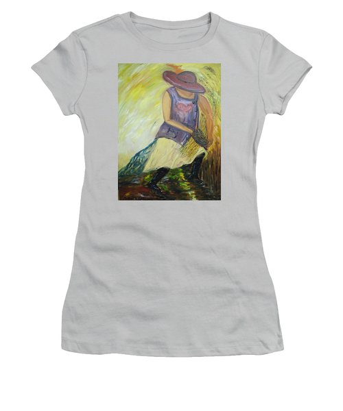 Woman Of Wheat Women's T-Shirt (Athletic Fit)