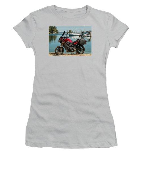 Yamaha Fj-09 .3 Women's T-Shirt (Junior Cut) by E Faithe Lester