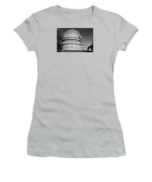 Women's T-Shirt (Junior Cut) featuring the photograph Yerkes Observatory  by Ricky L Jones