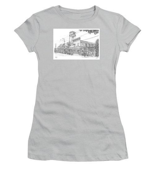 Yesterday Today Women's T-Shirt (Junior Cut) by Doug Kreuger