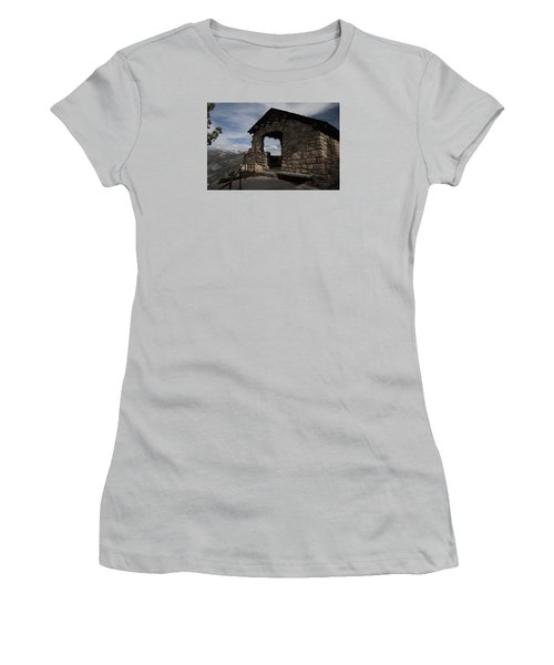 Yosemite Refuge Women's T-Shirt (Junior Cut) by Ivete Basso Photography