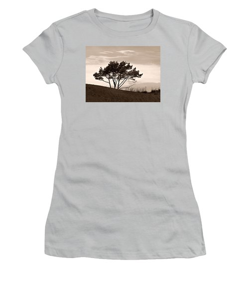 Women's T-Shirt (Junior Cut) featuring the photograph Yyteri Evening by Jouko Lehto