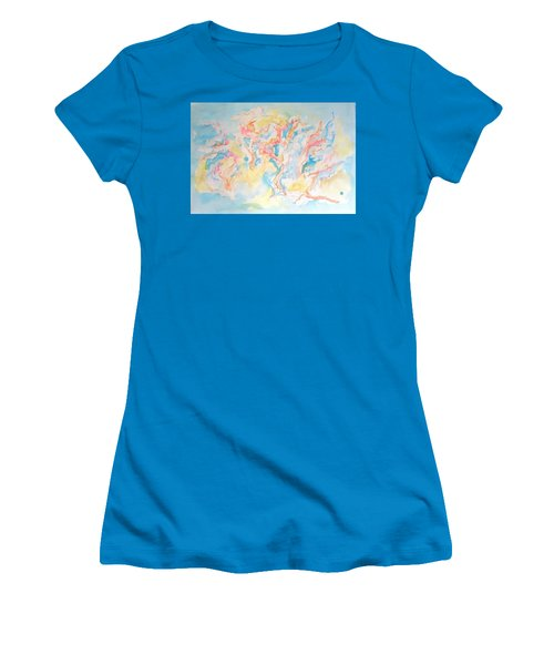 Dance Of Olive Trees Women's T-Shirt (Junior Cut) by Esther Newman-Cohen