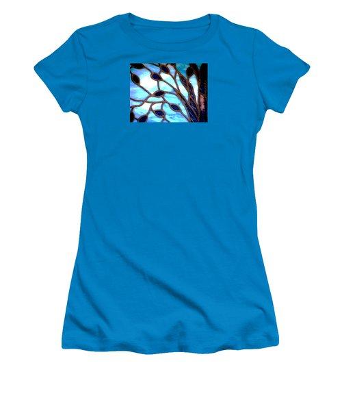 Gettysburg College Chapel Window Women's T-Shirt (Junior Cut) by Angela Davies