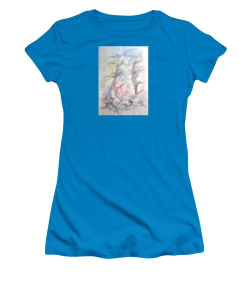 Two Trees In The Wind Women's T-Shirt (Athletic Fit)