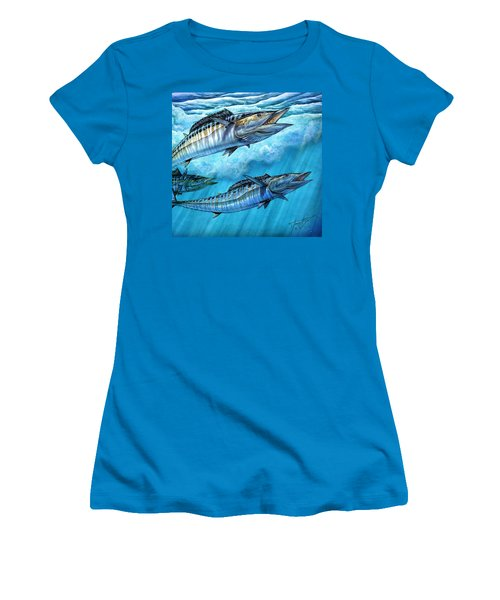 Wahoo In Freedom Women's T-Shirt (Athletic Fit)