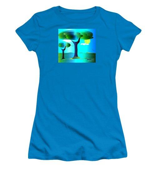 Sunny Day   Women's T-Shirt (Junior Cut) by Iris Gelbart