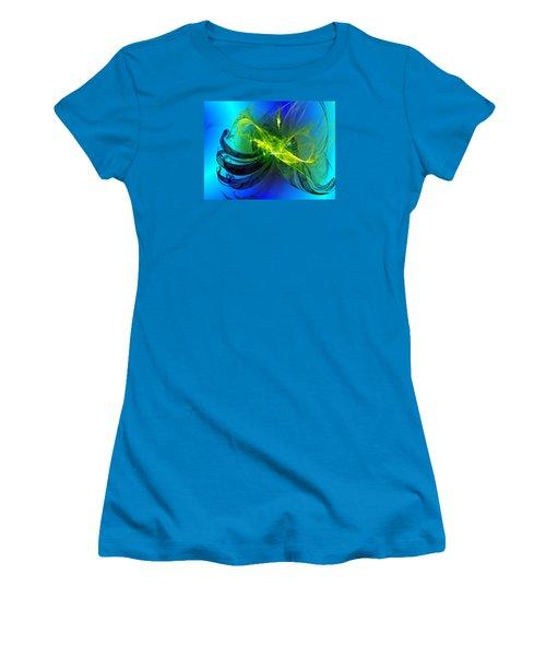 Women's T-Shirt (Junior Cut) featuring the digital art 47 by Jeff Iverson