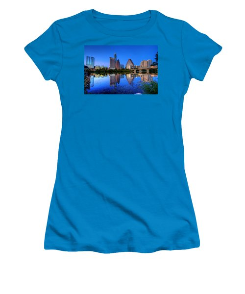 A Beautiful Austin Evening Women's T-Shirt (Athletic Fit)