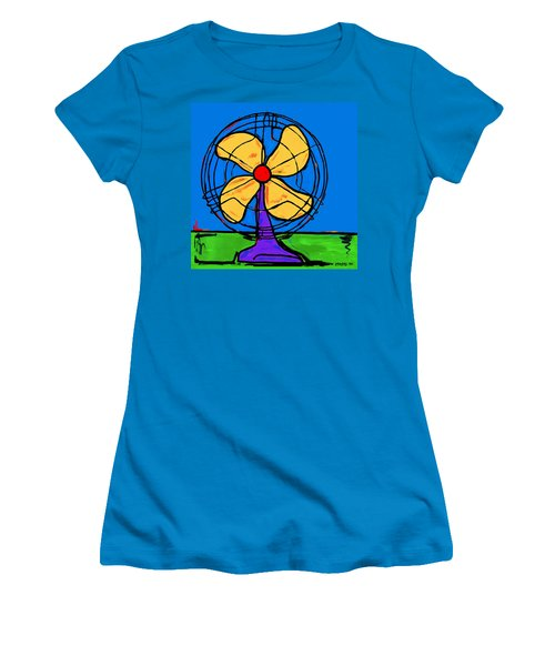 A Fan Of Color Women's T-Shirt (Athletic Fit)