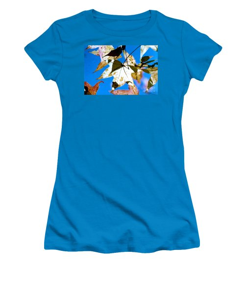Women's T-Shirt (Junior Cut) featuring the photograph Autumn  In New Orleans Louisiana by Michael Hoard