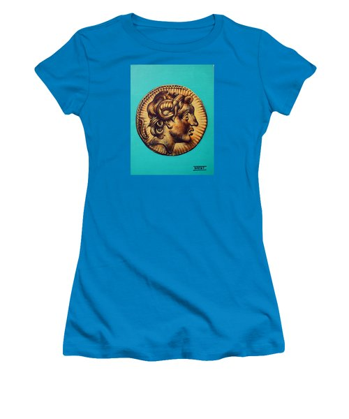 Alexander The Great Women's T-Shirt (Athletic Fit)