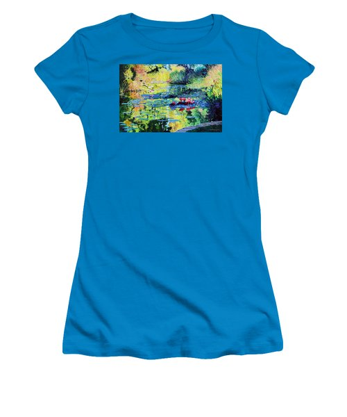 Back To The Garden Women's T-Shirt (Athletic Fit)
