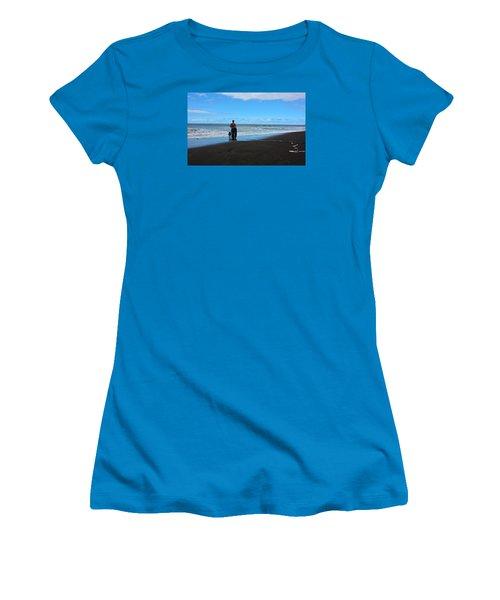 Best Friends Boogie Women's T-Shirt (Junior Cut) by Venetia Featherstone-Witty
