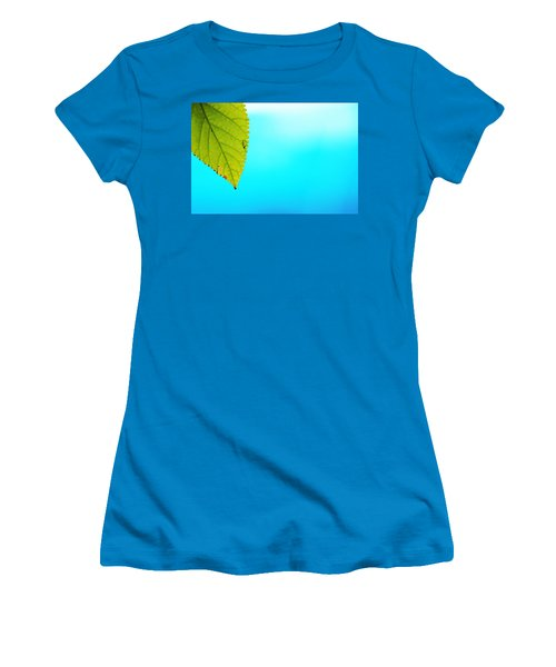 Blue Lagoon Women's T-Shirt (Athletic Fit)