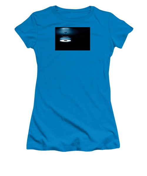 Blue Light Women's T-Shirt (Junior Cut) by Darryl Dalton
