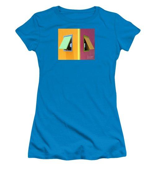 Caribbean Corner 3 Women's T-Shirt (Junior Cut) by Randall Weidner