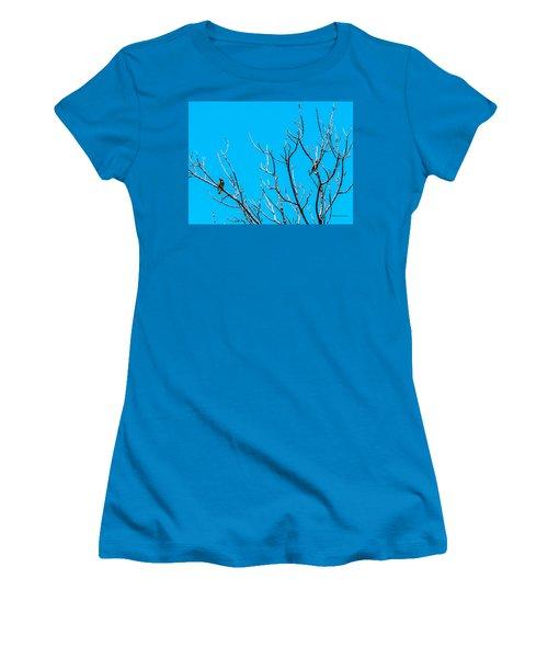 Cedar Wax Wings Women's T-Shirt (Athletic Fit)