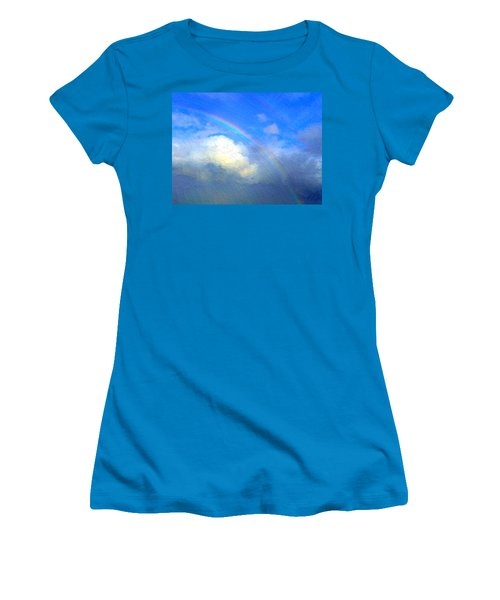 Clouds In Ireland Women's T-Shirt (Junior Cut) by Bruce Nutting