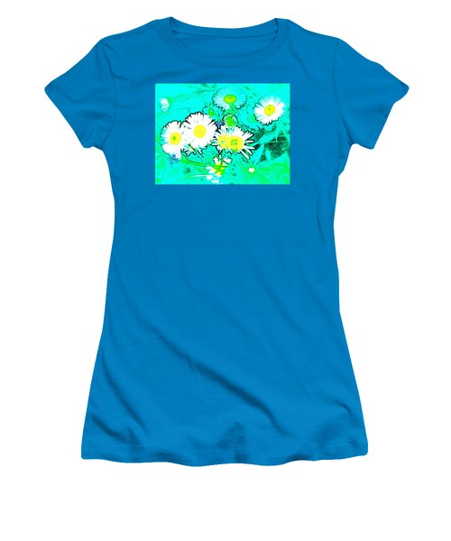 Women's T-Shirt (Junior Cut) featuring the photograph Color 7 by Pamela Cooper