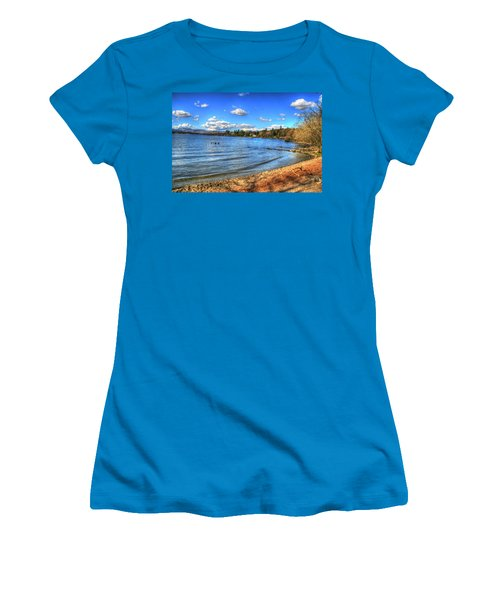 Women's T-Shirt (Junior Cut) featuring the photograph Down By The Riverside by Doc Braham