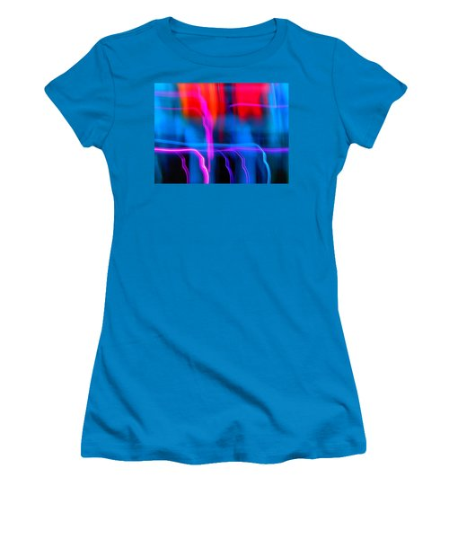 Electric Dance Women's T-Shirt (Athletic Fit)