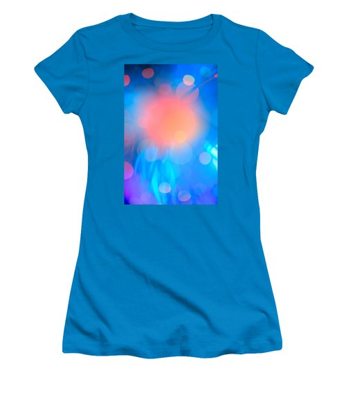 Evolution Orange Women's T-Shirt (Athletic Fit)
