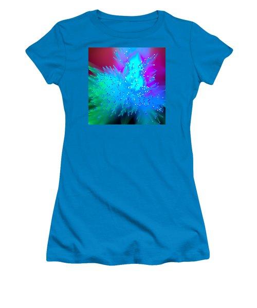 Women's T-Shirt (Junior Cut) featuring the photograph Exodus by Dazzle Zazz