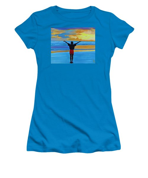 Good Morning Morning Women's T-Shirt (Athletic Fit)