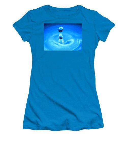 H20 Women's T-Shirt (Junior Cut) by Sophia Schmierer