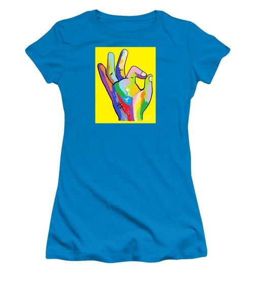 It's Ok Women's T-Shirt (Junior Cut) by Eloise Schneider