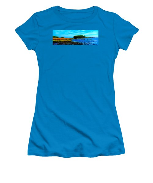 Kennebunkport  Vaughn Island  Women's T-Shirt (Athletic Fit)