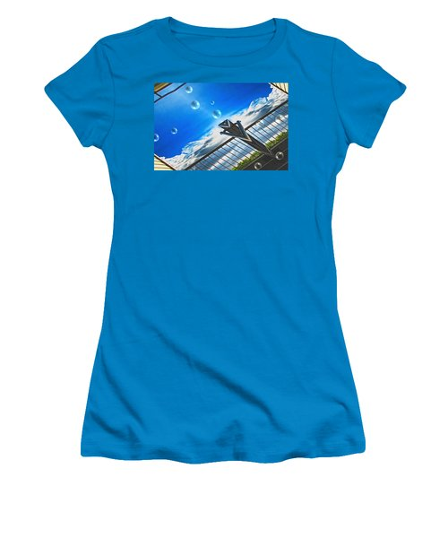 Letting Go Women's T-Shirt (Junior Cut) by Wendy J St Christopher