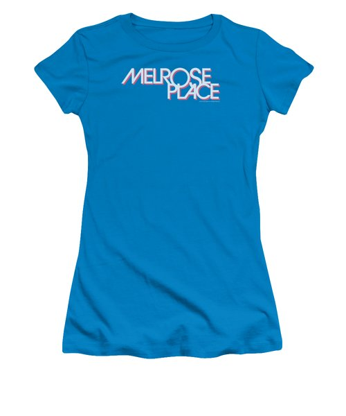 Melrose - Logo Women's T-Shirt (Athletic Fit)